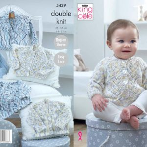 King Cole Baby 5439 Knitting Pattern