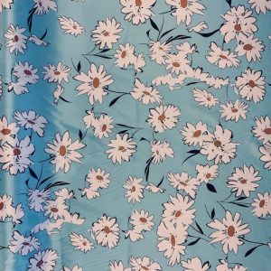 Daisy Sateen Stretch Cotton