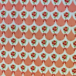 Rose Floral 100% Cotton Fabric