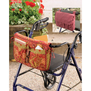 Kwik Sew Wheelchair & Walker Carryall & Carrier Bag Pattern K3927