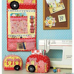 Kwik Sew Vintage Trailer Pin Cushion, Storage Box & Organiser Pattern K0219