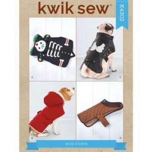 Kwik Sew Kwik Sew Dog Coat Pattern K4302