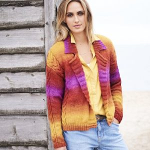 Stylecraft Dreamcatcher Jacket Knitting Pattern 9601