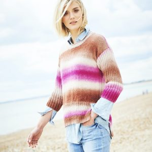 Stylecraft Dreamcatcher Sweater Knitting Pattern 9729