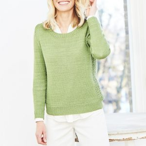 Stylecraft Naturals Bamboo DK Sweater Knitting Pattern 9750